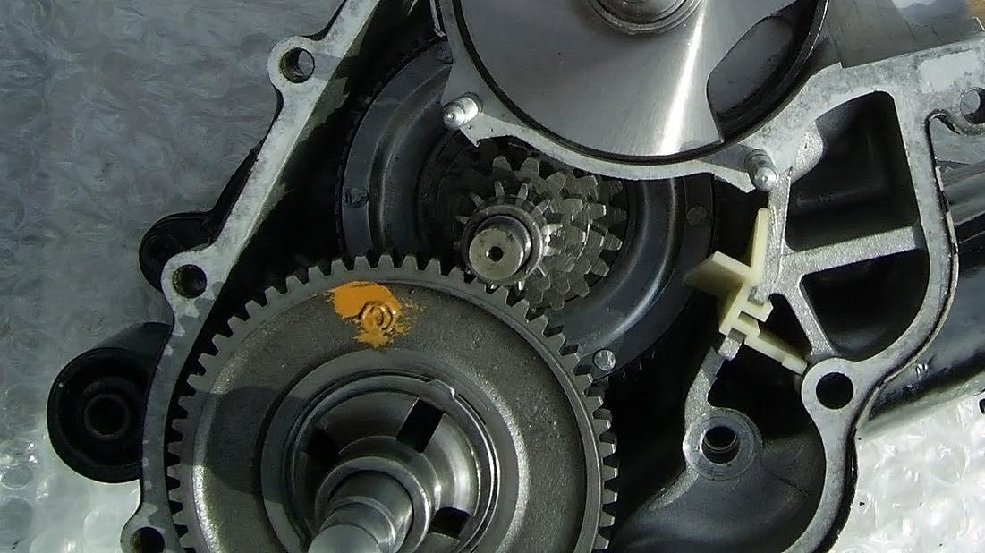 Vespa PX, Getriebe