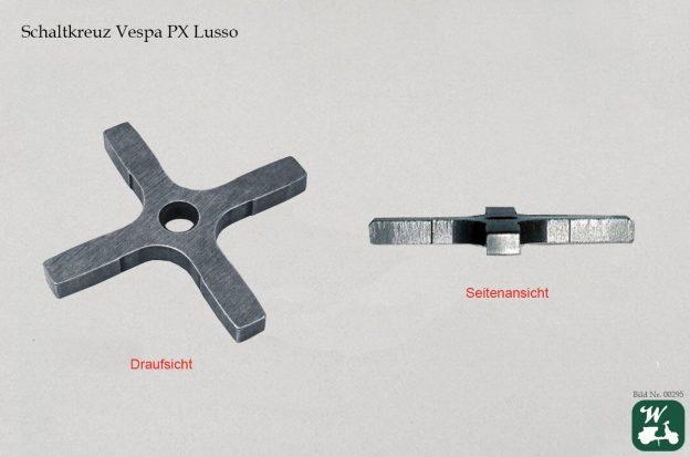 Bild 2: Schaltkreuz PX Lusso. Die Oberfläche des Schaltkreuzes ist beidseitig flach. (Foto: Wespenblech Archiv)