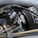 Vergaserdeckel Snakehead von CMD für Dellorto PHBH