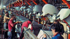 Vespa P200E, 1978, Fabrik