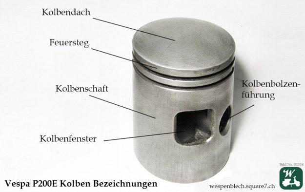 Wespenblech Bildnummer 1524, Vespa P200E, Drop Bar, SIP Sportsitzbank, Heidenau, K61, 120/70-10