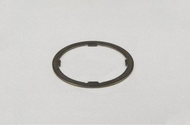 Bild 6: Disntanzscheibe für die Vespa PX Lusso. Gut erkennbar: Die Scheibe verfügt über 4 Nasen.