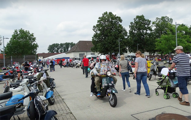 Event, Vespa World Days, 2017, Celle