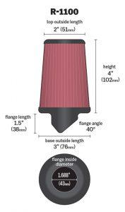 K&N R-1100 Luftfilter