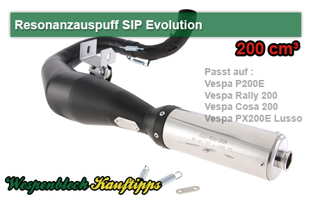 SIP Evolution Vespa 200