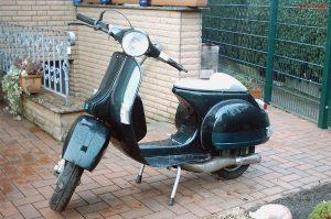 Eine Vespa PX von Ralf im Jahre 2006.