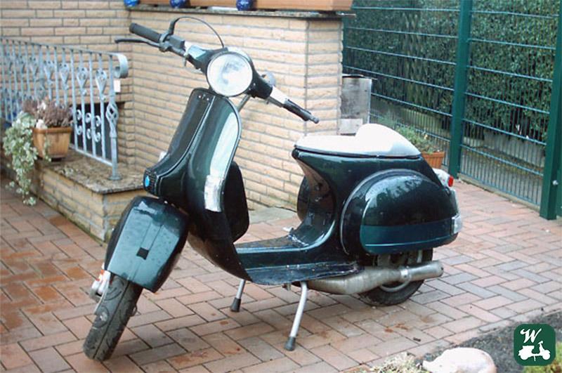 Wespenblech Bildnummer 11, Vespa, P200E, VSX1T, 66647, 2006, Januar
