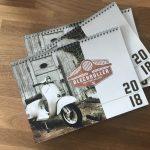 NEU: Blechroller Fotokalender 2018