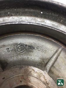 Bremstrommel innen Vespa PX alt