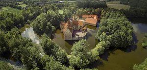Vespa fahren im Münsterland, Burg Vischering,