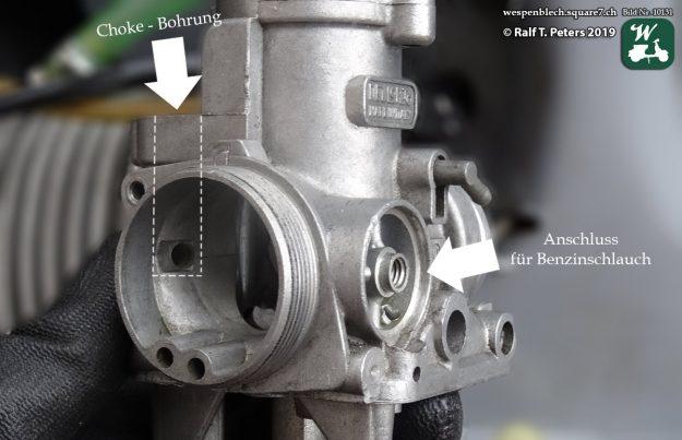 Nach der Reinigung sah der Vergaser aus wie neu. Mittlerweile sitzt der Vergaser 18 Jahre auf dem Motor. (Foto: Wespenblech Archiv)